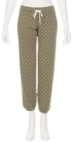 Monrow Polka Dot Hearts Sweatpant