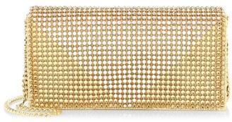 Whiting & Davis Crystal Triangle Convertible Clutch