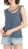 LnA Women's Eastern Desert Slashed Neck Tank