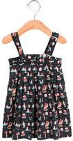 Oeuf Girls' Bear Print Dress-Skirt