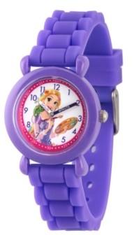 EWatchFactory Disney Princess Rapunzel Girls' Purple Plastic Time Teacher Watch