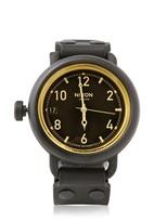Nixon Matte Black October Watch