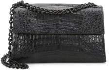 Nancy Gonzalez Crocodile Double Chain Shoulder Bag