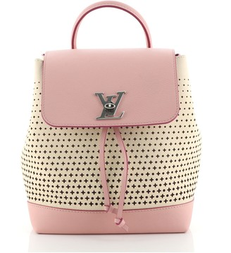 Louis Vuitton Lockme Backpack Perforated Leather