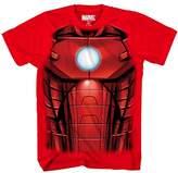 Marvel Men's Mesh Iron Face 1 Short Sleeve T-Shirt