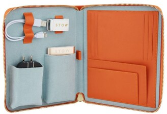 Stow Leather The First Class Tech Case