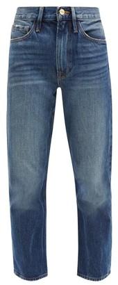 Frame Le Piper Mid-rise Straight-leg Jeans - Denim