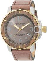 Nautica Men's NAD15515G NMS 01 DATE Analog Display Quartz Watch