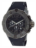 Adee Kaye Men's AK7755-MIPGN Grand Mond - G2Z Analog Display Japanese Quartz Black Watch