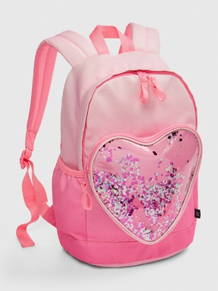 Gap Kids Ombre Heart Confetti Junior Backpack