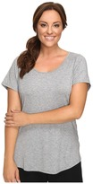 Lucy Extended Short Sleeve Workout Tee