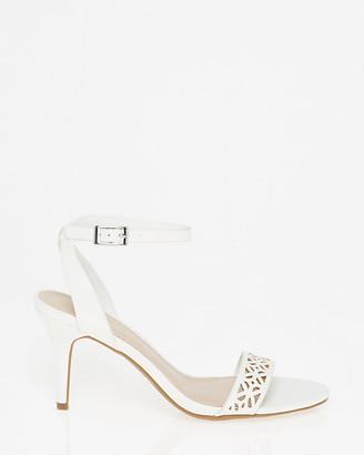 Le Château Laser Cut Ankle Strap Sandal