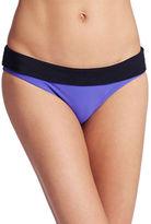 Nike Foldover Colorblocked Bikini Bottom