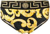 Versace Grecian logo printed briefs