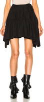 J.W.Anderson Back To Front Drape Skirt in Black.