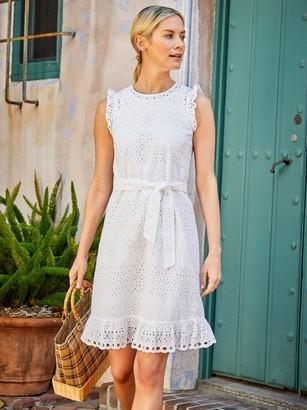 J.Mclaughlin Zita Eyelet Dress