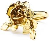 Oscar de la Renta Rose & Leaf Vine Ring