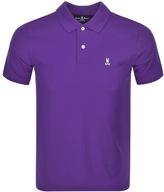 Psycho Bunny Classic Polo T Shirt Purple