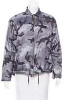 Valentino Camouflage Puffer Jacket