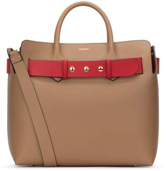 Burberry Belted Double Handle Tote Bag