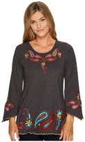 Scully Anara Embroidered Tunic Women's Blouse