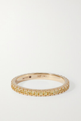 Roxanne First 14-karat Gold Sapphire Ring - Yellow
