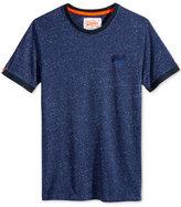 Superdry Men's Ol Cali Embroidered-Logo Ringer T-Shirt