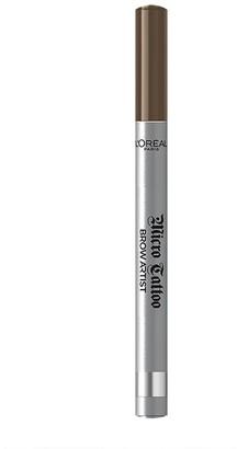L'Oreal Brow Artist Micro Tattoo 24Hr Eyebrow Definer 2G 103 Brunette