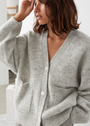 And other stories Alpaca Wool Blend Cardigan