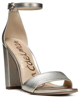 Sam Edelman Yaro Ankle Strap Block Heel Sandals