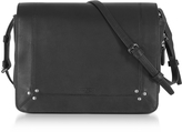 Jerome Dreyfuss Igor Black Leather Shoulder Bag