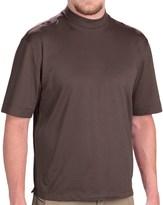 Rivers End Mock Turtleneck - UPF 30+, Short Sleeve (For Men)