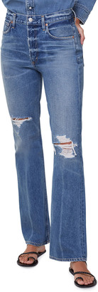 Citizens of Humanity Libby Relaxed Boot-Cut Distressed Jeans