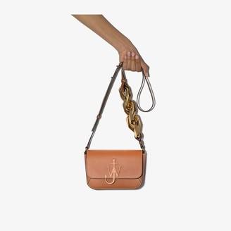 J.W.Anderson Brown Anchor Chain strap shoulder bag