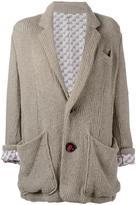Undercover knitted blazer