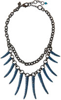 Sequin Athena Pave Statement Necklace