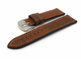 F FERRER Mens Leather Watch Strap CIE22-ESSFT