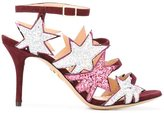 Charlotte Olympia 'Twinkle Toes' sandals - women - Leather/Suede/PVC - 37