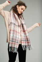 Anthropologie Pernille Check Scarf