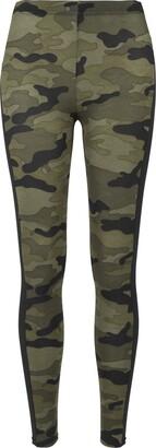 Urban Classics Ladies Camo Stripe Leggings for Women