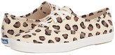 Keds Champion Leopard (Cream) Women's Lace up casual Shoes