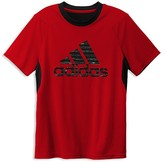 adidas Boys' Mesh Back Climalite Training Tee - Sizes S-XL