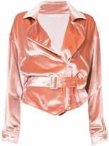 Fleur Du Mal Panne Rider jacket