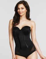 Maidenform Easy-Up Strapless Shaping Body