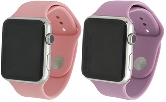 Olivia Pratt Silicone Apple Band - Pack of 2
