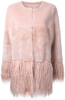 Shrimps - 'Porgie' shearling coat - women - Wool - 14