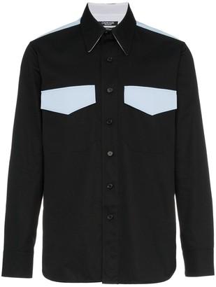 Calvin Klein western two pocket shirt