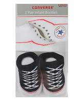 Converse Baby Booties Set for Infant Boys and Girls (0-6 Months)