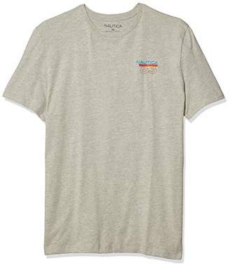 Nautica Men's Logo Graphic Short Sleeve T-Shirt