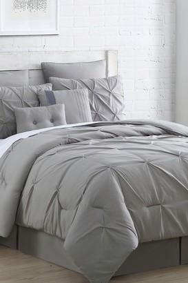 Modern Threads HOT DEAL! King Ella Embellished Comforter Set - Grey